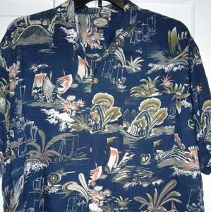 Tommy Bahama Button Down Shirt Large